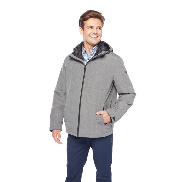 fa0371d6d44d Shop Tommy Hilfiger Men s Poly Nylon 3-In-1 Hoodie with Zip Out ...