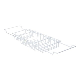 Ybmhome Bathtub Caddy Tray with Extending Sides