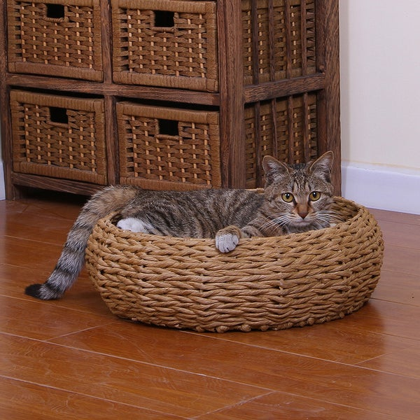 PetPals Paper Rope Cat Bed. Opens flyout.