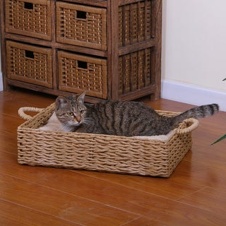 Link to PetPals Paper Rope Box Cat Bed Similar Items in Cat Beds & Blankets