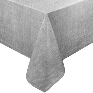 cafe deauville heavyweight vinyl tablecloth with soft flannel backing grey or taupe
