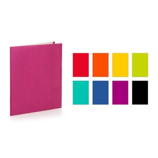 "Promarx Portfolios, 11.5"" x 9.5"", 2 Pocket, 3 Prong, Economy Paper Portfolio, Trendy Assorted Colors, Colors May Vary, 100PK"