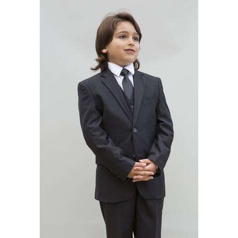 B100 CHARCOAL Boy Suit