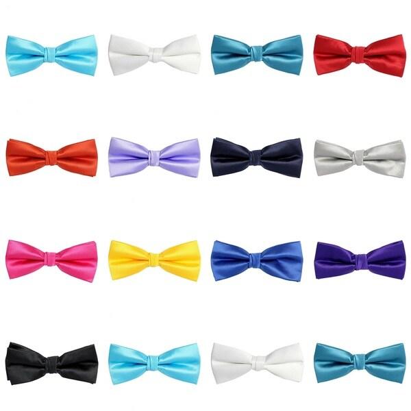 Mens Pre Tied Bow Tie (2 INCH)-20 Colors