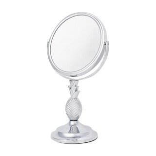 Danielle Two-sided 10X Magnification Pineapple Design Vanity Mirror