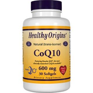 Healthy Origins CoQ10 600 mg (30 Softgels)