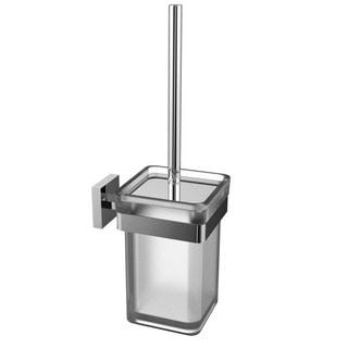 Eviva Cleansi Toilet Brush (Brushed Nickel) Bathroom Accessories
