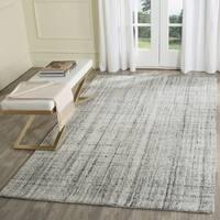 Safavieh Handmade Modern Abstract Grey/ Black Area Rug - 3' x 5'