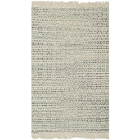 Safavieh Boston Contemporary Geometric Hand-Woven Cotton Grey/ Ivory Area Rug - 3' x 5'