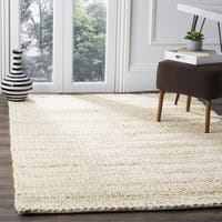 Safavieh Natural Fiber Coastal Geometric Hand-Woven Jute Bleach Area Rug - 3' x 5'