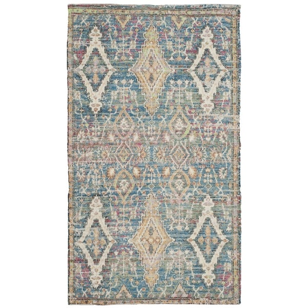 Shop Safavieh Saffron Transitional Geometric Hand-Spun