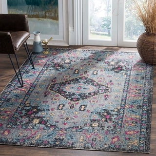 Hand Tufted Transitional Floral Pattern Grey Brown Rug 5
