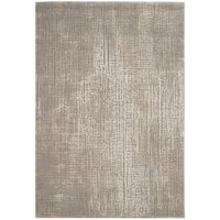"Safavieh Meadow Modern Abstract Ivory/ Grey Area Rug - 6'7"" x 9'"