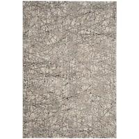 Safavieh Meadow Modern Abstract Beige/ Grey Area Rug - 5'3 x 7'6