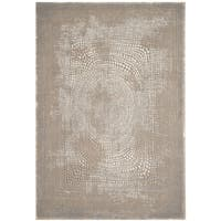 Safavieh Meadow Modern Abstract Ivory/ Grey Area Rug - 5'3 x 7'6