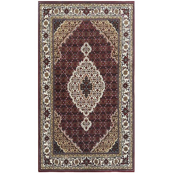 Hand Knotted Indo Persian Obeetee Wool Area Rug Ebth: Carpets And Rugs In India
