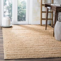 Safavieh Natural Fiber Coastal Geometric Hand-Woven Jute Natural Area Rug - 5' x 8'
