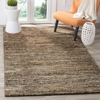 Safavieh Retro Contemporary Stripe Ivory/ Gold Area Rug (6' x 9')