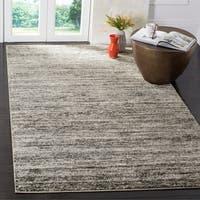 Safavieh Retro Contemporary Stripe Ivory/ Grey Area Rug (6' x 9') - 6' x 9'