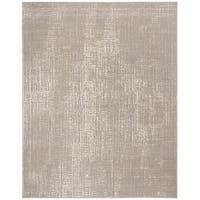 Safavieh Meadow Modern Abstract Ivory/ Grey Area Rug - 8' x 10'
