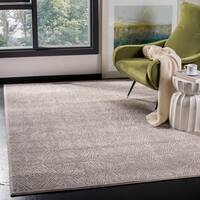 Safavieh Meadow Modern Abstract Ivory/ Grey Area Rug - 9' x 12'