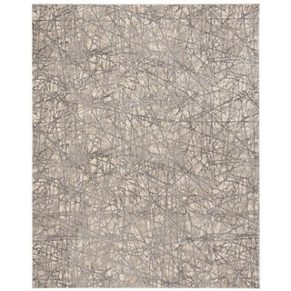 Safavieh Meadow Modern Abstract Beige/ Grey Area Rug (9' x 12')