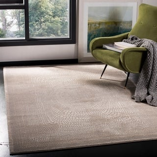 Safavieh Meadow Modern Geometric Ivory/ Grey Area Rug (9' x 12')