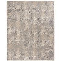 Safavieh Meadow Modern Geometric Ivory/ Grey Area Rug - 8' x 10'