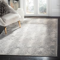 Safavieh Meadow Modern Geometric Ivory/ Grey Area Rug - 9' x 12'
