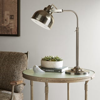 INK+IVY Tribecca Dark Grey Table Lamp