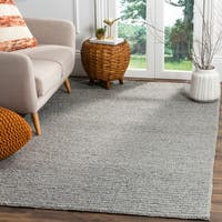 Safavieh Natura Transitional Geometric Hand-Woven Wool Steel Area Rug - 9' x 12'