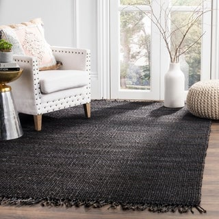 Shop Safavieh Natural Fiber Coastal Hand Woven Jute Black