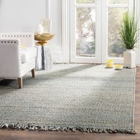 Safavieh Natural Fiber Coastal Hand-woven Jute Blue Area Rug - 8' x 10'