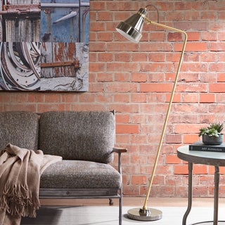 INK+IVY Wiley Dark Grey Floor Lamp