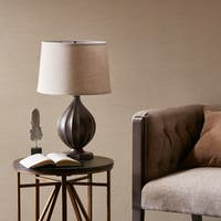 Madison Park Rowan Black Table Lamp