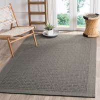 Safavieh Palm Beach Transitional Geometric Sisal Ash Area Rug - 8' x 10'