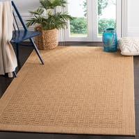Safavieh Palm Beach Transitional Geometric Sisal Maize Area Rug (8' x 10')
