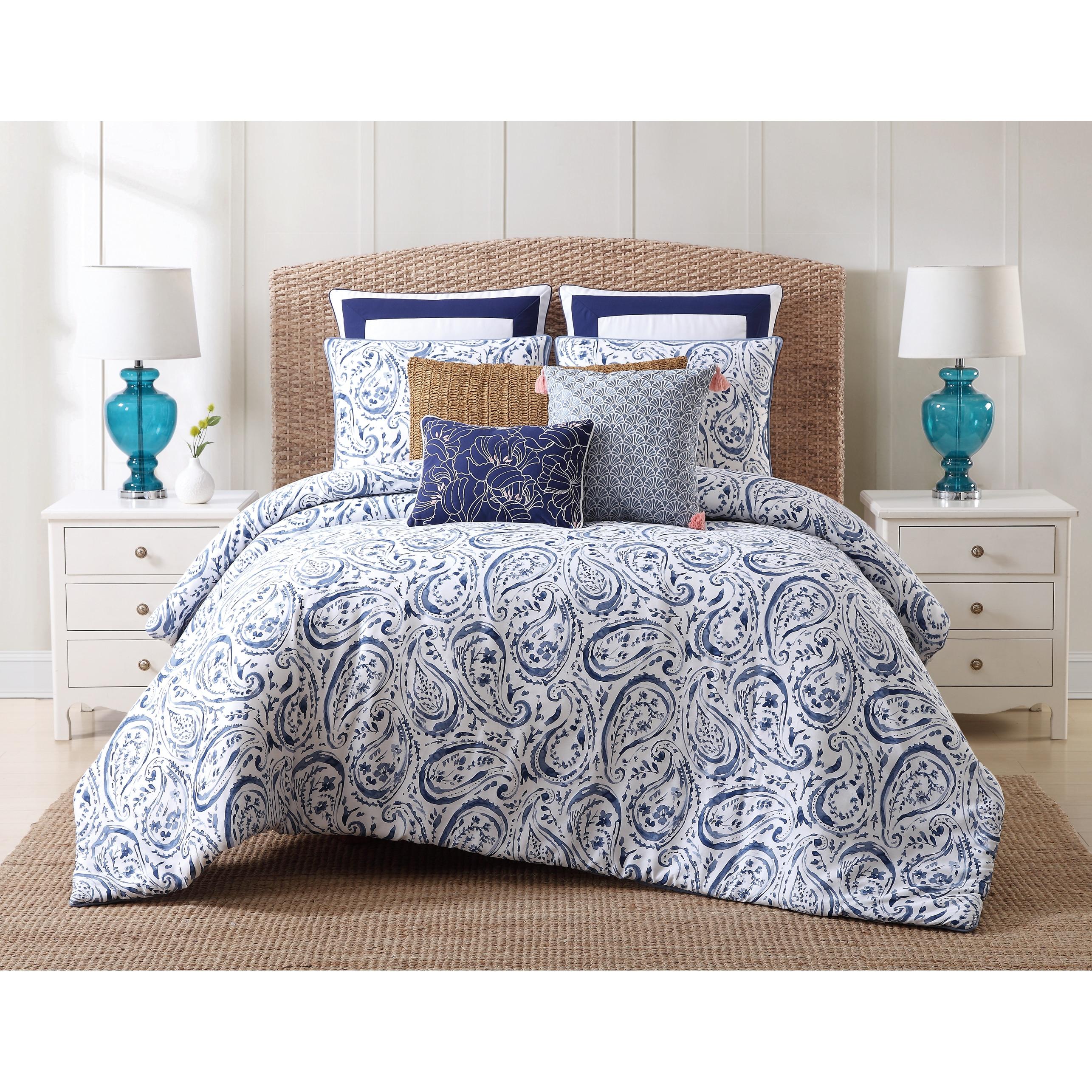Oceanfront Resort Indienne Paisley Cotton Comforter Set On Sale Overstock 16411055