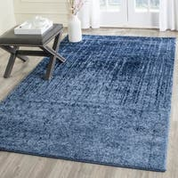 Safavieh Retro Modern Abstract Light Blue/ Blue Area Rug - 10' x 14'