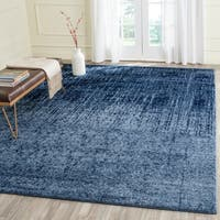 Safavieh Retro Modern Abstract Light Blue/ Blue Area Rug - 8'9 x 12'