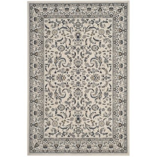 Safavieh Serenity Transitional Oriental Ivory/ Blue Area Rug (8'6 x 12')
