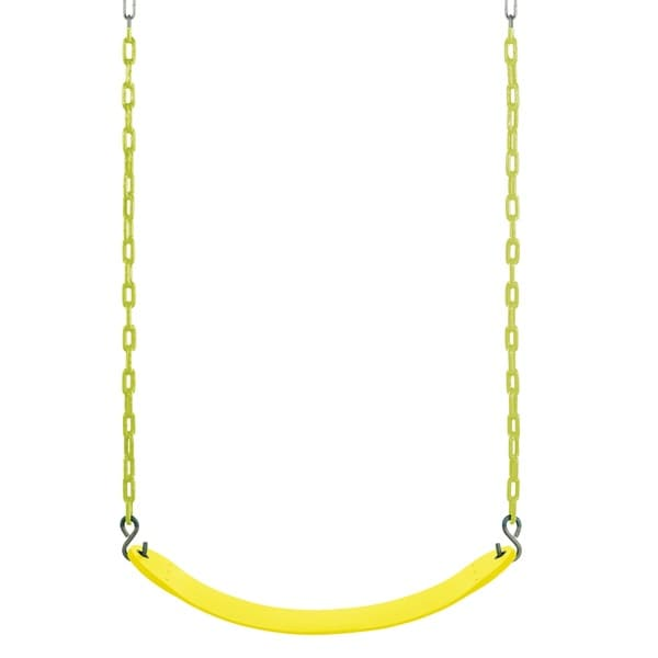 Swingan Yellow Belt Swing for Vinyl Coated Chain