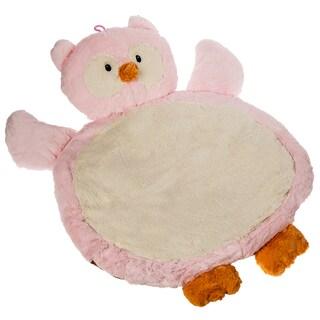 Mary Meyer Pink Owl Bestever Baby Mat