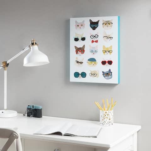 Intelligent Design Hip Cat Printed MDF Box - Multi
