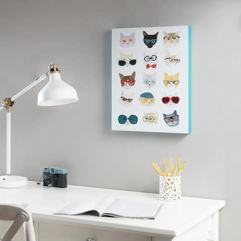 Intelligent Design Hip Cat Multi Printed MDF Box