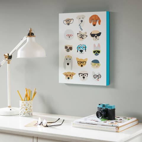 Intelligent Design Hip Dog Printed MDF Box - Multi
