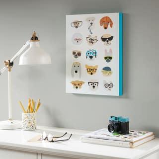 Intelligent Design Hip Dog Multi Printed MDF Box - Multi-color