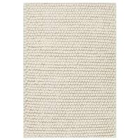 Safavieh Natura Transitional Solid Hand-Tufted Wool Ivory Area Rug - 2' x 3'