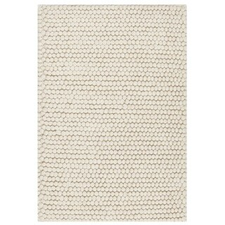 Safavieh Natura Transitional Solid Hand-Tufted Wool Ivory Area Rug (2' x 3')