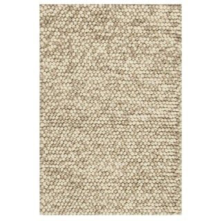 Safavieh Natura Transitional Solid Hand-Tufted Wool Beige Area Rug (2' x 3')